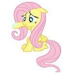 Grossed out Fluttershy