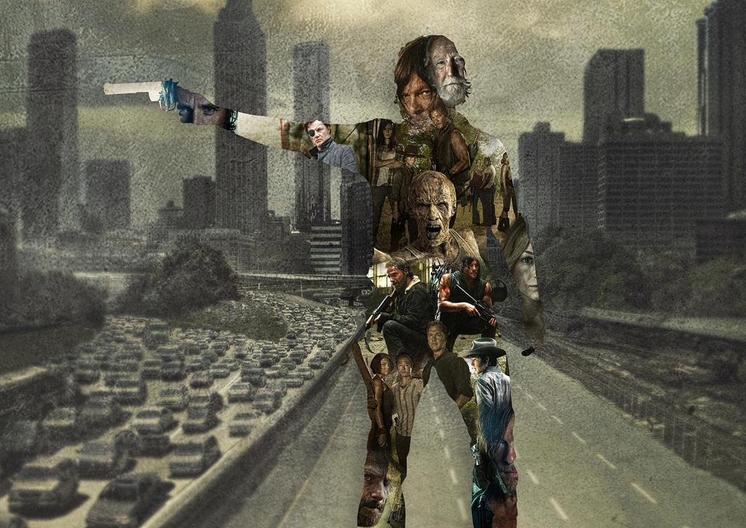 The Walking Dead by CorentinChiron