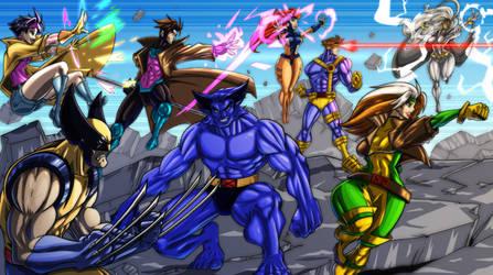 X-Men: The Animated Series - Bottle Design - Final