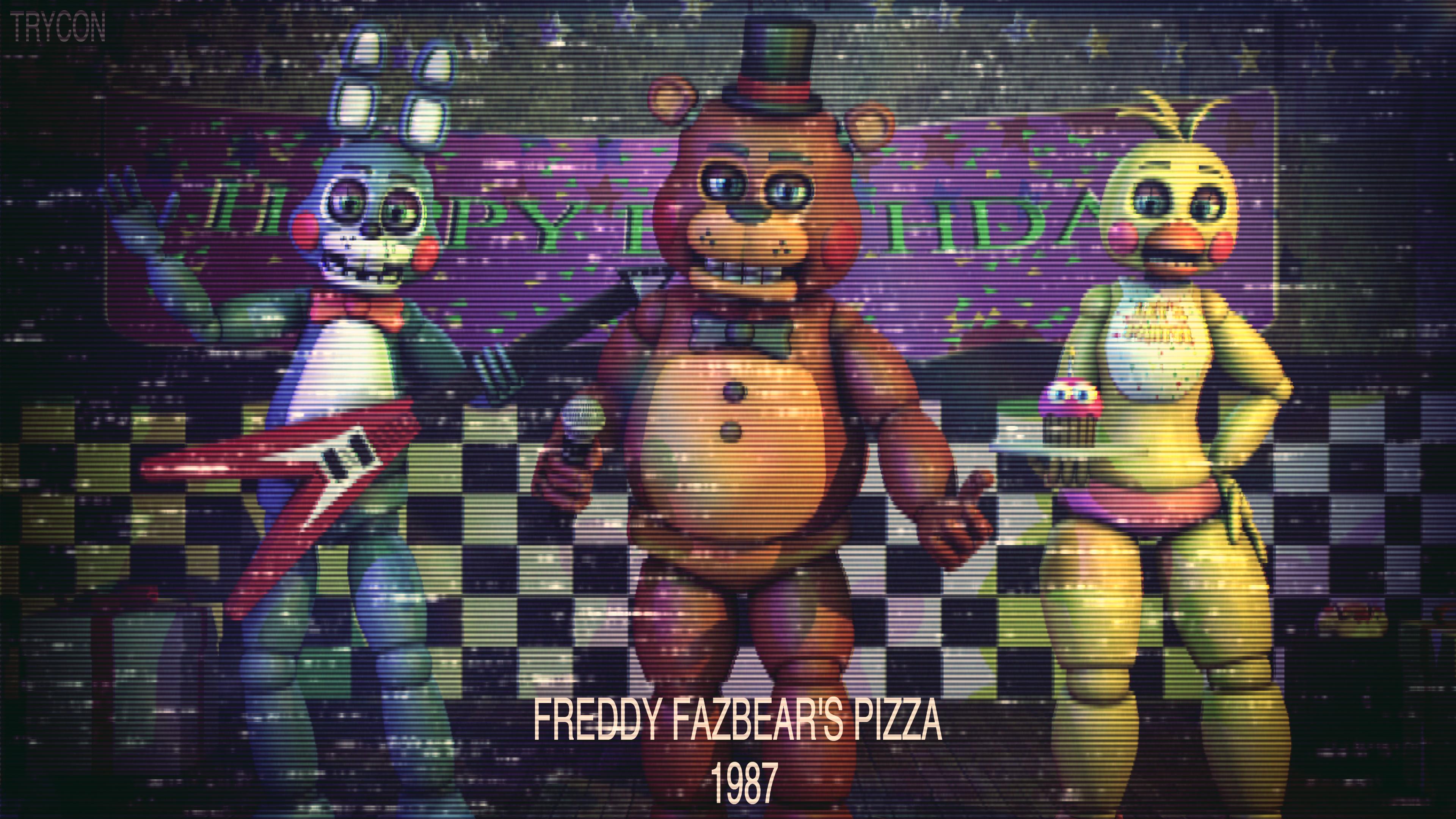1987 Freddy Fazbears Pizza Commercials