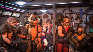 Video Game Diner by Trycon1980