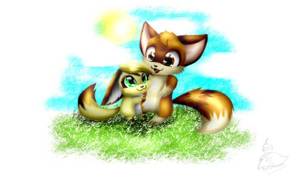 Zorrache And Fluffy