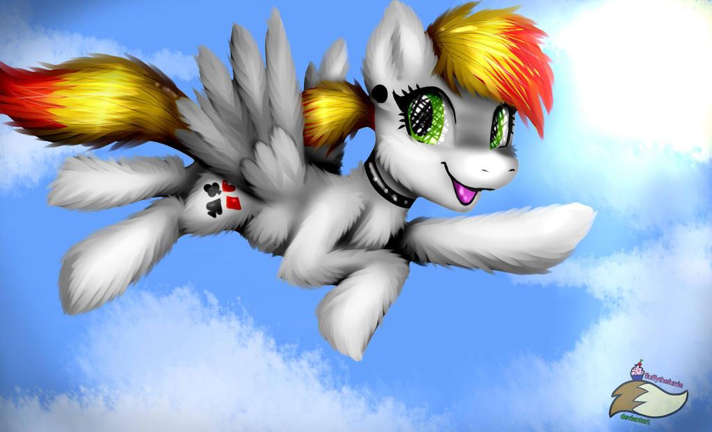 Omg A Pony by fluffythefurrie