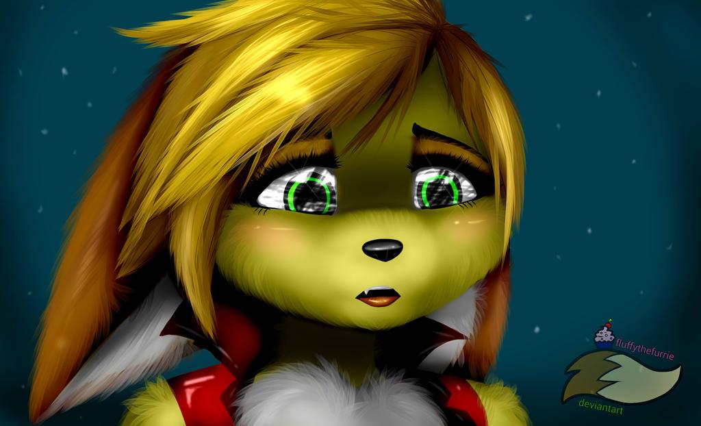 Sad Fluffy by fluffythefurrie