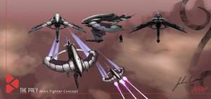 Alien Fighter Concept