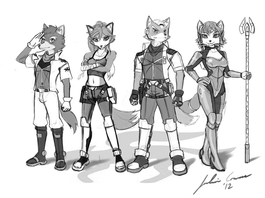 SF Sketch by JECBrush