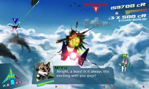 Star Fox Concept Screenshot by JECBrush