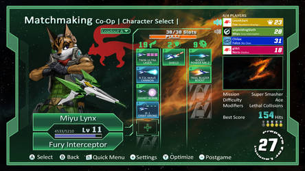 Star Fox Concept Screenshot II by JECBrush