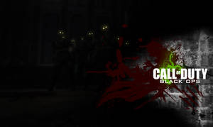 Call of Duty Black Ops Zombies Mode Wallpaper HD