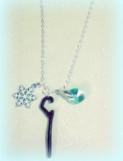 Jack Frost Necklace! c: by CeeJayFrost