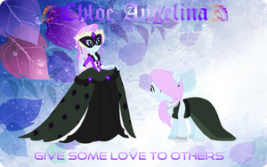 Give Some Love To Others by NightLavanderArtist