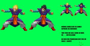 Gohan supreme kai outfit sprite