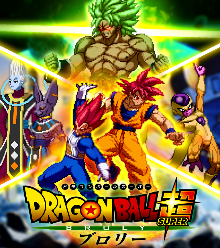 Dragonball Super Broly Movie Poster1 By Danleoden On Deviantart