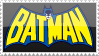 Retro Batman Stamp by rjonesdesign