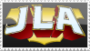 JLA Logo Stamp by rjonesdesign