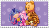 Baby Pooh Kids stamp by rjonesdesign