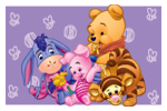 Baby Pooh Kids XL stamp by rjonesdesign
