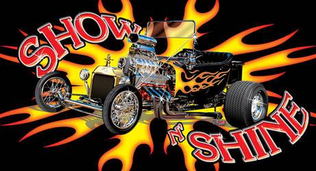 Show N' Shine T-Bucket by rjonesdesign