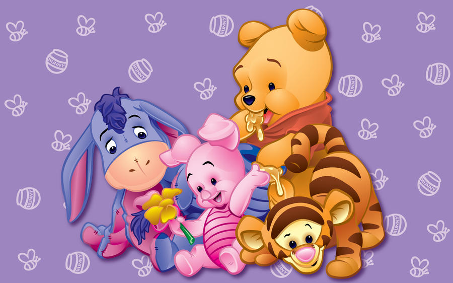 wallpaper baby pooh. Baby Pooh Kids by