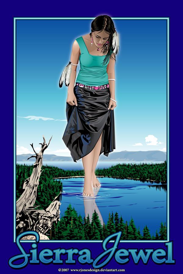 Sierra Jewel by rjonesdesign