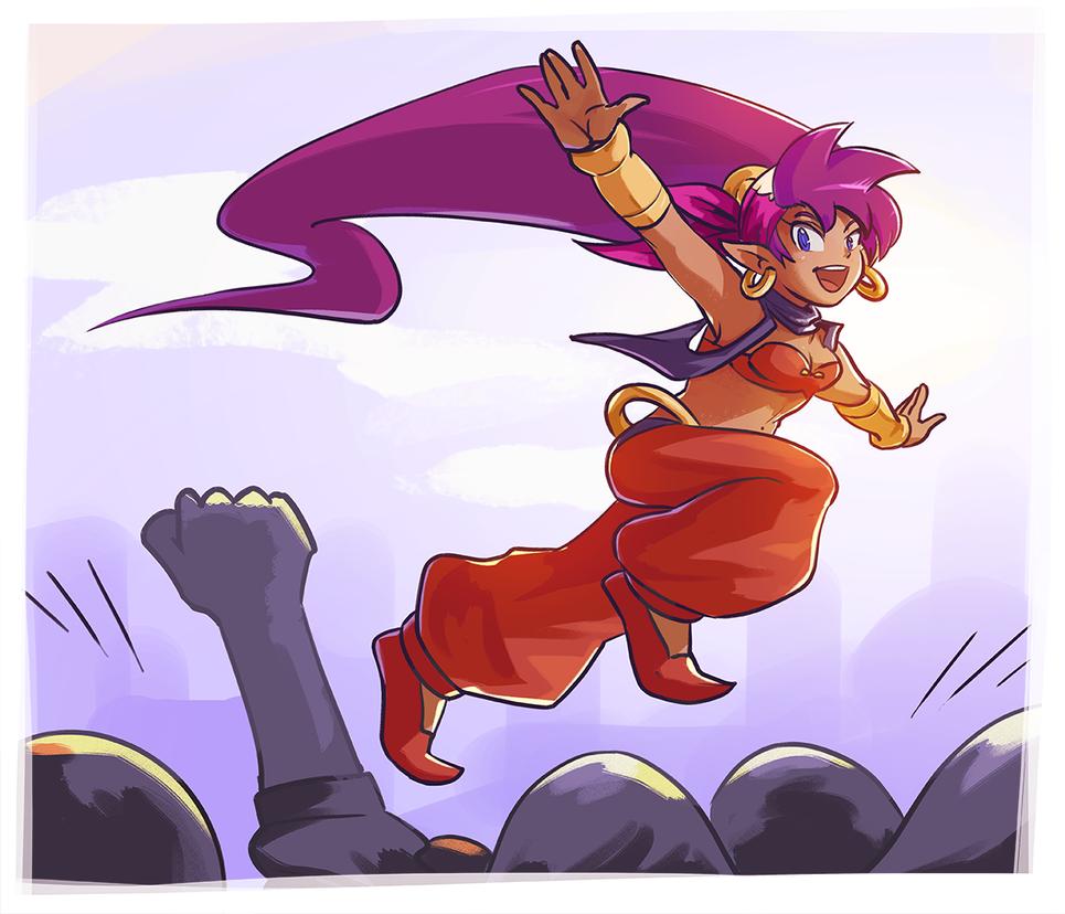 Fanart: Shantae, again by Pehesse