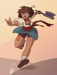 Fan Art: Indivisible, Ajna