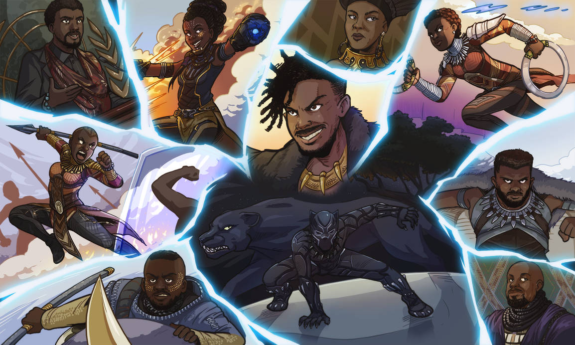 Black Panther by Pehesse