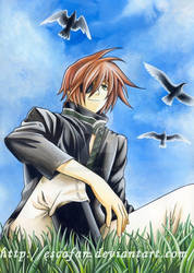 Lavi .Watercolor. by escafan