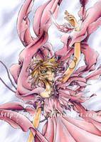 Sakura pink dressed by escafan