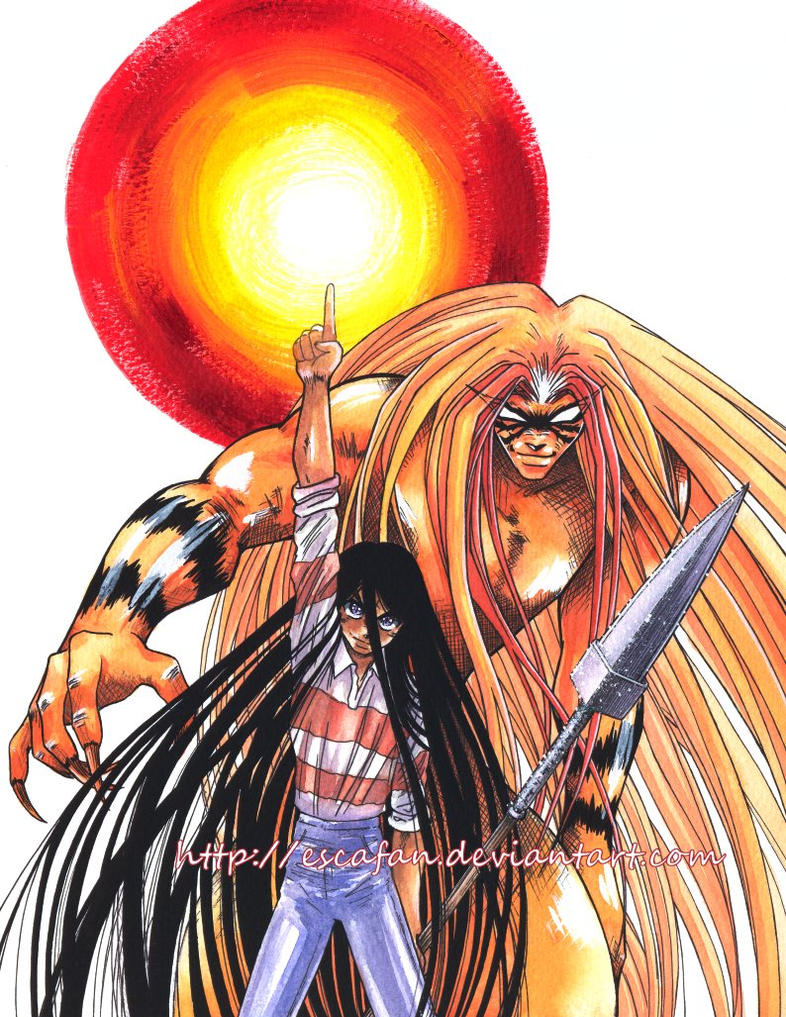 Ushio and Tora by escafan