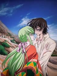 .Say it again. Lelouch and C.C Code Geass movie