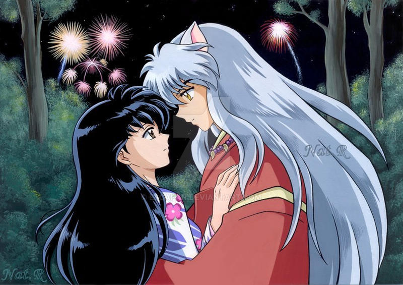 Inuyasha Kagome sweet summer by escafan