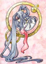 Hinoto .watercolor painting.
