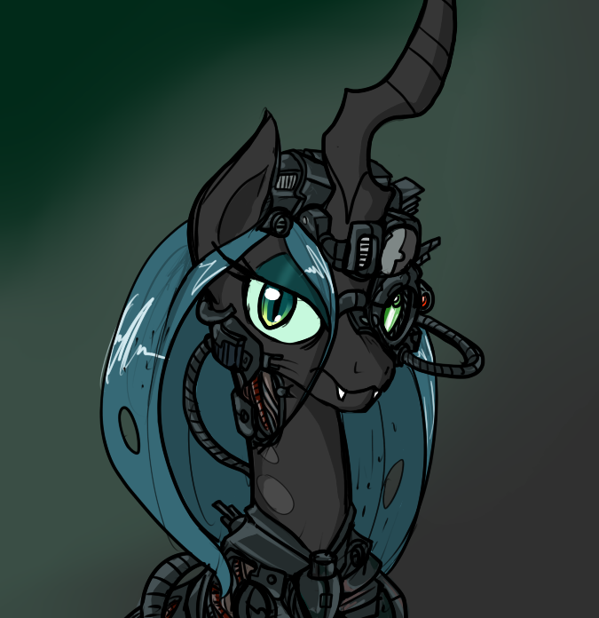 Chrysalis of Borg by ReiDuran