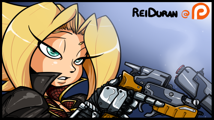Sniper - Patreon Banner Reiduran at by ReiDuran