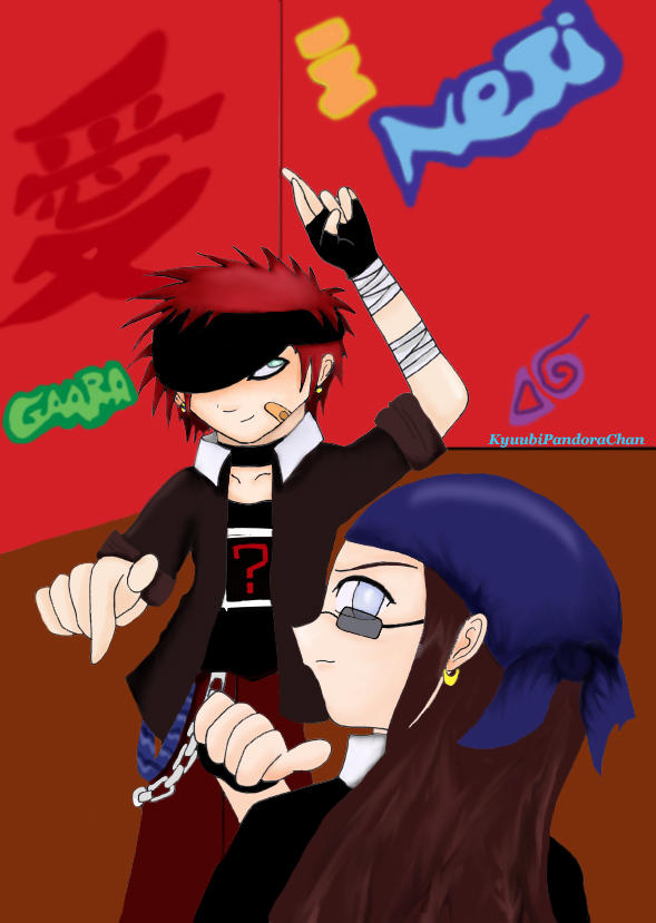 Gaara And Neji by KyuubiPandoraChan on DeviantArt Gaara And Neji