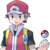 PKMN Icon Trainer Red - FRLG