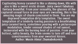 Love poem Author Musin Almat Zhumabekovich (4) by Almat111