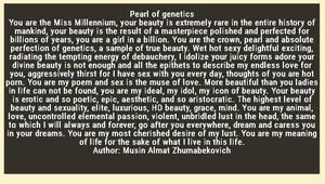 Pearl of genetics by Almat111