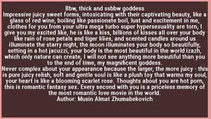 Bbw goddess by Almat111