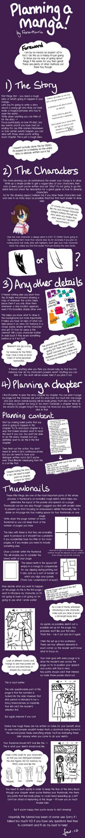 Planning Manga Tutorial