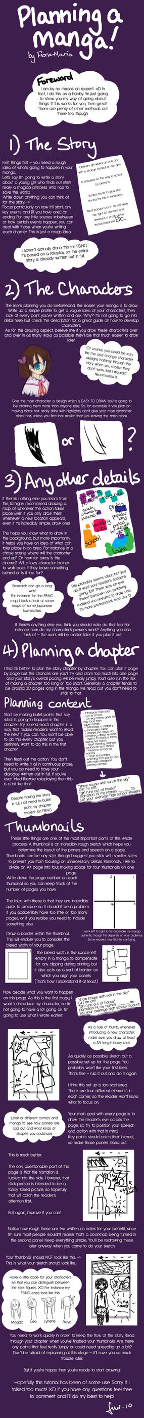 Planning Manga Tutorial by Fiona-Maria