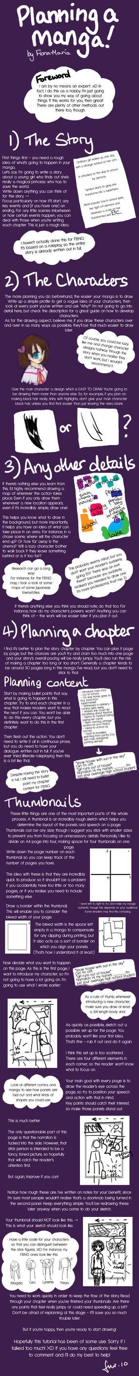 Planning Manga Tutorial by Fiona-Maria