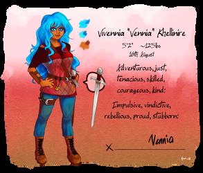 [Ref] Vennia by Fiona-Maria