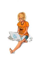 Annabeth Chase by Fiona-Maria