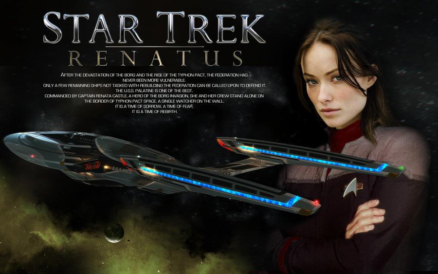 Olivia Wilde Star Trek Renatus by SmutBroker