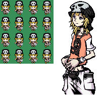 TWEWY Rhyme Sprite Sheet