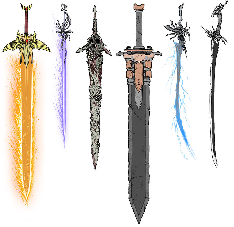 WH Swords. by IcyYmir