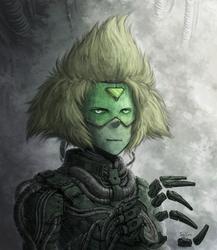 Overly Cyberpunk Peridot