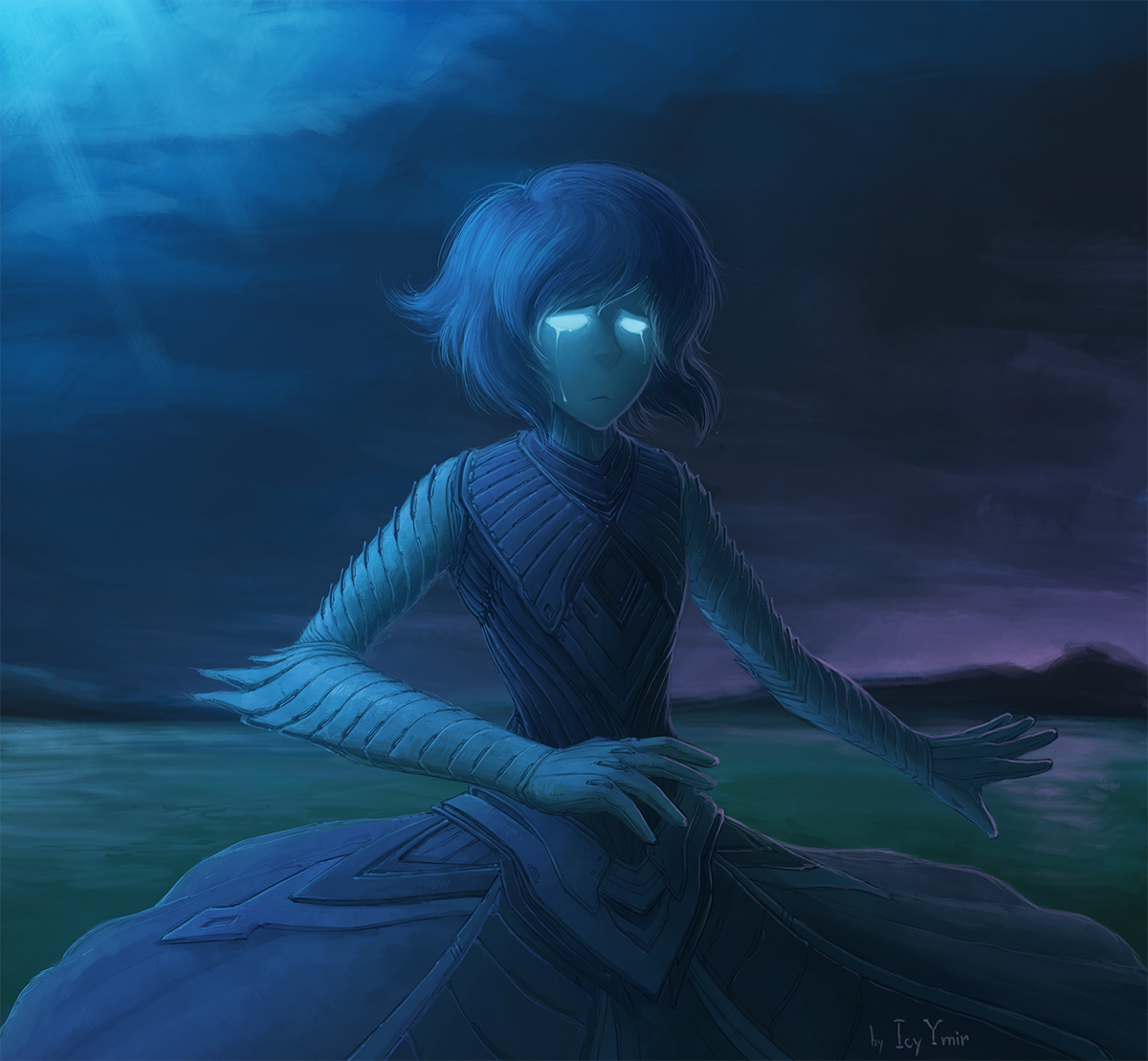 Lapis the Water Witch by IcyYmir